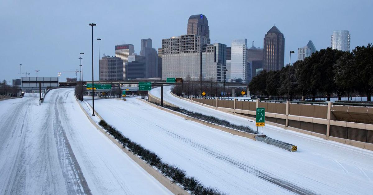 Case study: Dallas snowstorms